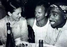 Madonna, Sting and Tupac