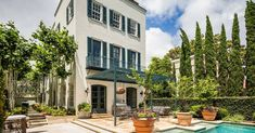 Gorgeous Charleston home with pool and guest house wants $7.28M - Curbed