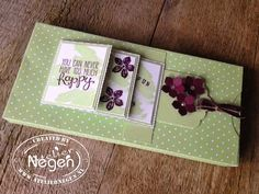 Stampin' Up! Work of Art stamp set, Yippee Skippee stamp set, Petite Petals stamp set, Scallop Tag Topper punch and Petite Petals punch By Atelier Negen