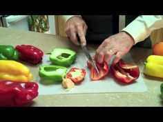 How to prepare Bell Peppers.
