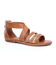 My special occassion shoes, but mine are black or navy, one of those. Nurture Elliis Gladiator Sandals #Dillards