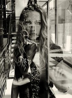 pinterest.com/fra411 #photography #doubleexposure - Gorgeous double exposure portrait