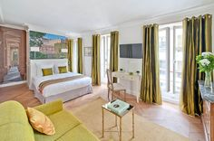 My Home for You is the place to stay for a quintessential Parisian getaway in the heart of the City of Light. Expect stylish guestrooms with blackout curtains and views overlooking the city, plus a lovely Continental breakfast with seasonal fruits and local cheeses. The B&B is perfectly located in the center of Paris (and right in front of a Metro stop).