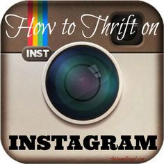 How to Thrift on Instagram - 4 Hats and Frugal