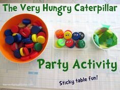 Learn with Play at Home: Very Hungry Caterpillar Party Activity