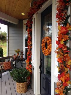The Tuscan Home: Welcome To Our Front Porch