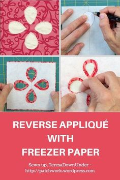 Reverse appliqué with freezer paper – video tutorial Reverse appliqué with freezer paper – video tutorial,Sewing Reverse applique with freezer paper – video tutorial by althea Related posts:Lipfinity Rising Stars Lipstick - 088 Starlet. Applique Tutorial, Applique Templates, Applique Patterns, Applique Quilts, Applique Designs, Quilt Patterns, Sewing Patterns, Smocking Tutorial, Owl Templates