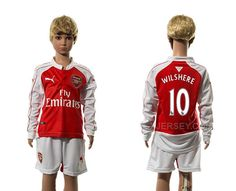 http://www.xjersey.com/201516-arsenal-10-wilshere-home-youth-long-sleeve-jersey.html Only$35.00 2015-16 ARSENAL 10 WILSHERE HOME YOUTH LONG SLEEVE JERSEY #Free #Shipping!