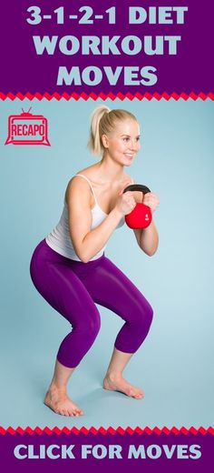 """Dolvett Quince's 3-1-2-1 Diet promises to help people drop two dress sizes in 21 days. However, it's not all food-related; we've got to hit the gym, too! According to Dolvett, """"combination movement is key."""" Try out his workout moves like the sumo squats, fire hydrants, lunges, and rainbows!"""