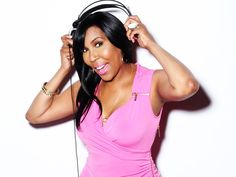 "Ebony Steele formerly of the ""The Rickey Smiley Morning Show"" and the ""Afternoon Rush"" has a new syndicated daily talk show called ""The D. Breast Cancer Survivor, Breast Cancer Awareness, Rickey Smiley Morning Show, Hip Hop Atlanta, Beat Cancer, Women In Music, Love N Hip Hop, Radios"