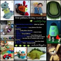 Crochet Patterns for Boys! Free Pattern Friday Round Up Curated by Oombawka Design