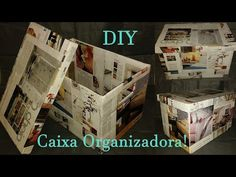 Mais um vídeo de Faça você mesma (DIY) que ensina como fazer uma sapateira utilizando caixas de papelão. Uma forma prática e barata de organizar sapatos. O v...