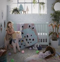 View the Secret Garden girls toddler room theme at The Land of Nod to find design ideas and inspiration for the perfect big kid room. Browse toddler room ideas.