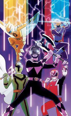 Once a Ranger Legendary Power Rangers Power Rangers Poster, Power Rangers Fan Art, Power Rangers Comic, Power Rangers Spd, Power Rangers Megazord, Mighty Morphin Power Rangers, Jaco, Desenho Do Power Rangers, Powe Rangers