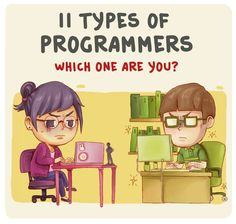 11 type of programmers 1