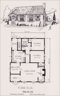 Charming Cottage with fireplace. plans for 00 square foot house ...