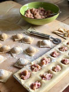 Pizza, Tortellini, Polenta, Gnocchi, Apple Pie, Waffles, Bread, Breakfast, Desserts