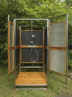 portable out door shower