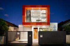 Colorful Contemporary Houses