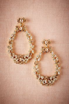 BHLDN Brassica Chandeliers in  Shoes & Accessories Jewelry Earrings at BHLDN