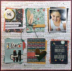 I Am Simply Me - Scrapbook.com