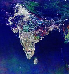 All of the lights of India...