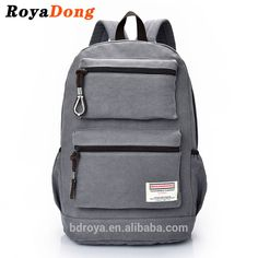 c80e67e90 RoyaDong Men's Backpacks High Quality Vintage Canvas Man Laptop Bags  Computer Bagpacks Canvas Backpack, Laptop
