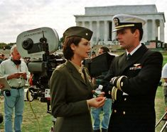 Photo of JAG for fans of JAG. Best Tv Shows, Favorite Tv Shows, Cathrine Bell, David James Elliott, Battle Dress, Army Wives, Green Beret, Navy Military, Hallmark Movies