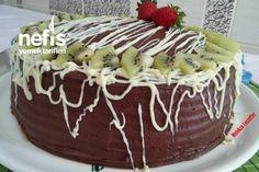 Chocolate Fruit Birthday Cake # Çikolatalımeyvelidoğumgünüpasta of the the Chocolate Fruit Birthday Cake # Çikolatalımeyvelidoğumgünüpasta of the the Fruit Birthday Cake, Chocolate Cake, Yogurt, Sweet, Desserts, Food, Wedding Cake, Lace Wedding, Cake Ideas