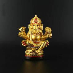 Like and Share if you want this  Sri Ganesh Golden Shining Statue For Puja House     Tag a friend who would love this!     FREE Shipping Worldwide     Get it here ---> http://punjabirishtay.com/sri-ganesh-golden-shining-statue-for-puja-house/