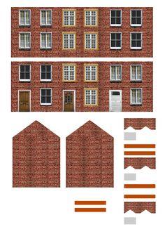Free Printable Ho Scale Buildings Plans LZK Gallery
