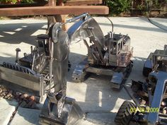 Miller - Welding Projects - Idea Gallery - Heavy equipment model