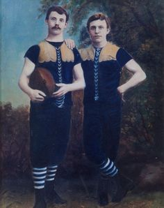 Carlton Football Club Guernsey - 1880s. Australian Football, American Football, Carlton Afl, Carlton Football Club, Terra Australis, Guernsey, Go Blue, Jumpers, Rugby