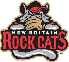 Eastern League (AA) New Britain Rock Cats (New Britain, Connecticut) will be featuring the CTBTA as their Charity of the Month in December! Thank you Rock Cats! Milb Teams, New Britain Connecticut, Sports Team Logos, Sports Teams, Baseball Teams, Basketball, Baseball Cap, Word Mark Logo, Minor League Baseball