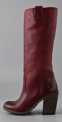 Frye Alexis High Heeled Boots. Right on!