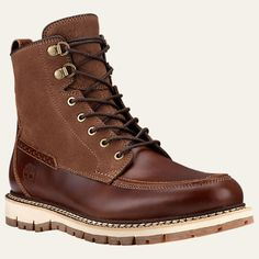 Timberland | Men's Britton Hill Moc Toe Waterproof Boots