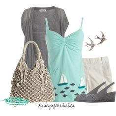 Saltwater, created by kaseyofthefields on Polyvore