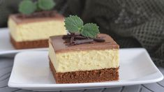 Cheesecake, Custard Cake, Melt In Your Mouth, Dessert Bars, Vanilla Cake, Fondue, Baking Recipes, Biscuits, Deserts