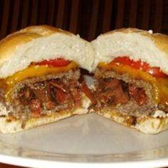 Easy Bacon, Onion and Cheese Stuffed Burgers Recipe - Allrecipes.com