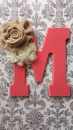 Coral wedding cake topper by SweetRetreatss on Etsy, $25.00