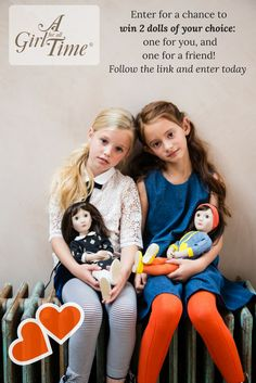 I've just entered A Girl for All Time's World Doll Day competition for a chance to win two dolls - one for me, and one for a friend ! You can enter too - click the post for a chance to win. The more you share, the more entries you get ! Good luck !