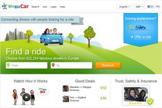 BlaBlaCar Becomes Prominent among Carpooling Websites, Thesocialize