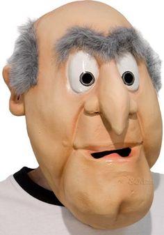 Muppets Waldorf Mask