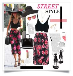 """""""Street Style"""" by judysingley-polyvore ❤ liked on Polyvore featuring WearAll, Wildfox, Charlotte Russe, Valentino, Ilia, Givenchy, Guerlain and Stuart Weitzman"""
