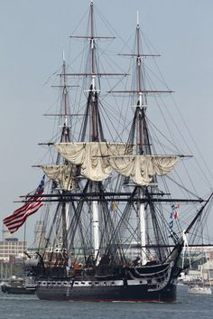 The USS Constitution sailed again today, for the 1st time since 1997. Old Ironsides fought in the War of 1812.