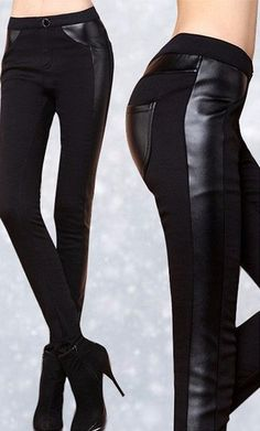 Female Warm Stylish Pants