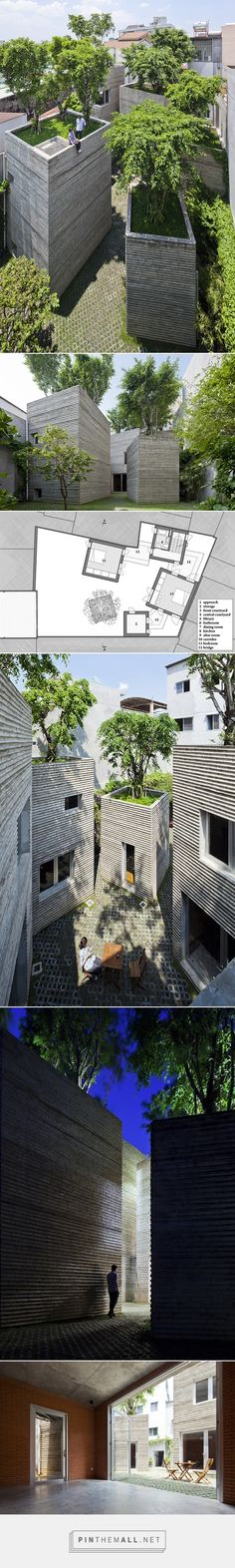 for Trees / VTN Architects House for Trees / Vo Trong Nghia Architects Green Architecture, Architecture Details, Landscape Architecture, Landscape Design, Sustainable Architecture, Residential Architecture, Contemporary Architecture, Arch House, House Trees