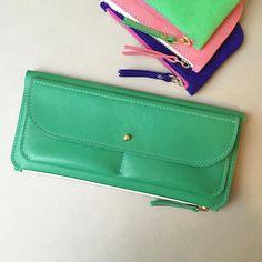 Green leather #ateliersaintloup