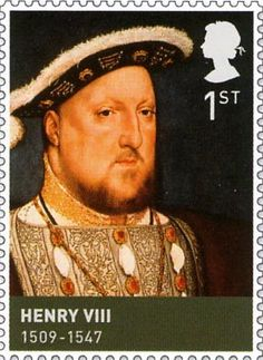 Henry VIII (1509-1547) King of England from  1509 until his death. Second monarch of the Tudor dynasty. 1st  British Stamp  (2009)