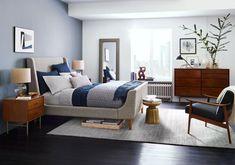 50 nijansi plave - bedroom